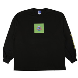PACCBET L/S Printed T-Shirt Black