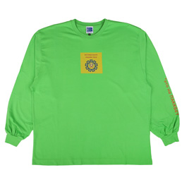 PACCBET L/S Printed T-Shirt Green