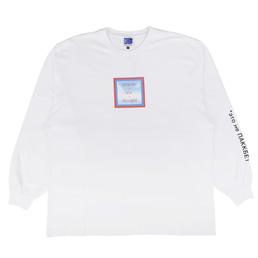 PACCBET L/S Printed T-Shirt White