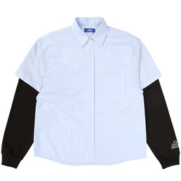 PACCBET S/S Shirt With Jersey Blue/ Black