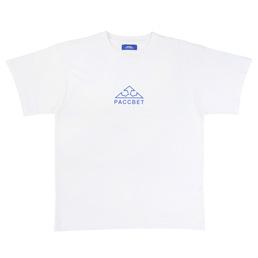 PACCBET Logo Print T-Shirt White