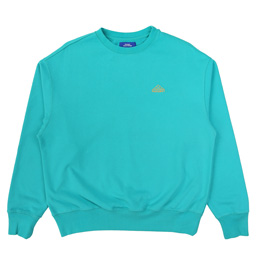PACCBET Logo Embroidered Sweatshirt Blue
