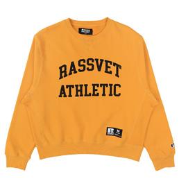PACCBET Printed Sweatshirt Mustard