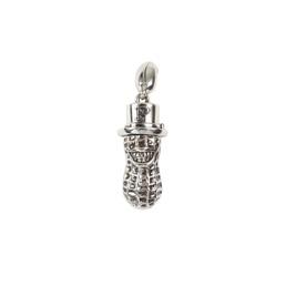 Peanuts YACHIMATA Keychain Silver