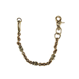 Peanuts & Co Bull Walletchain Brass