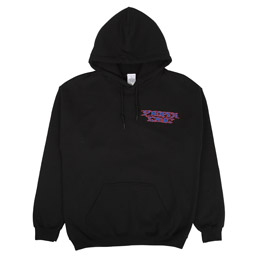 Proper Gang Zed Hooded Sweatshirt Black