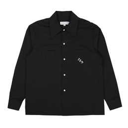 Proper Gang Monogram Shirt - Black