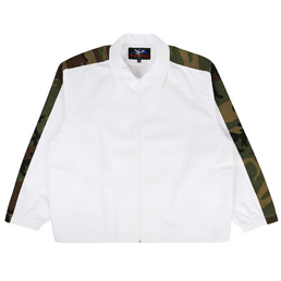 Proper Gang Arm Stripe Leisure Jacket White