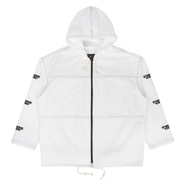 Proper Gang Embroidered Panel Jacket White