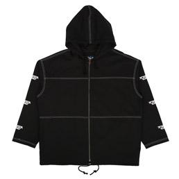 Proper Gang Embroidered Panel Jacket Black