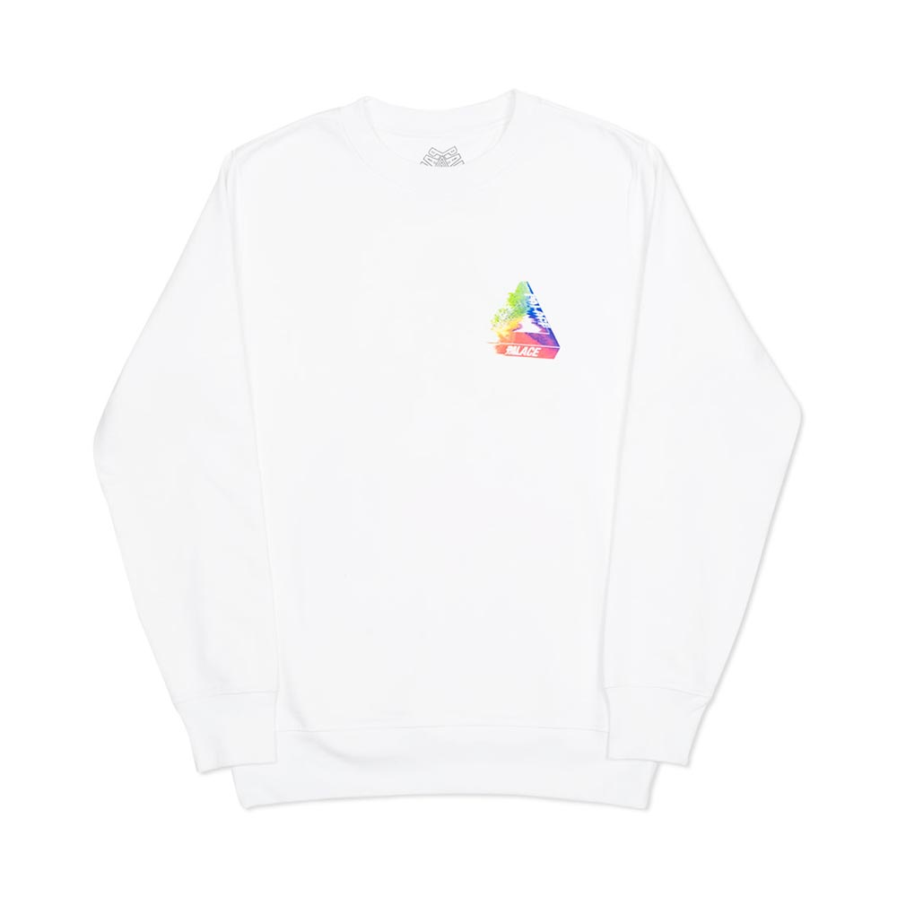 902723d8 W2C] White Tri-Smudge Crew : FashionReps