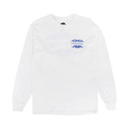 PARADIS3 Tribal Paradise L/S T-Shirt White