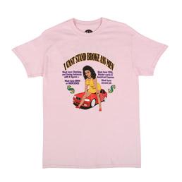 PRDIS3 Broke Ass Men SS T-Shirt Pink