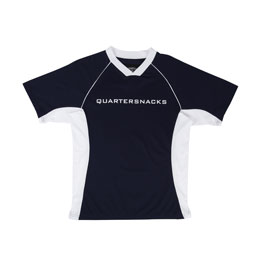 Quartersnacks Institute Soccer Jersey Navy/White