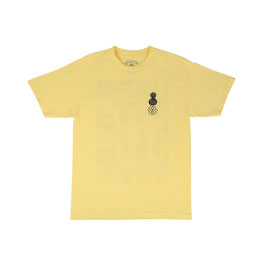 Quartersnacks Zine T-Shirt Yellow