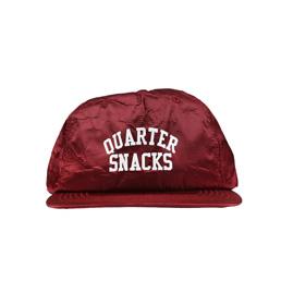 Quartersnacks Arch Logo Cap Burgundy