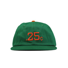 Quartersnacks 25's Cap Emerald Green