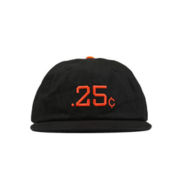 Quartersnacks 25's Cap Black
