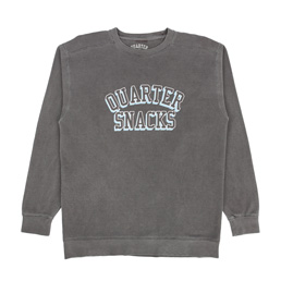 Quartersnacks Arch Crew Black