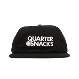 Quartersnacks Journalist Cap Black