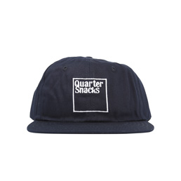 Quartersnacks Square Hat Navy