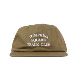 Quartersnacks Track Club Cap Olive