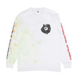 Real Bad Man Melty TD LS T-Shirt White