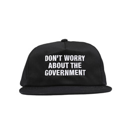 Real Bad Man Government Swapmeet Cap Black
