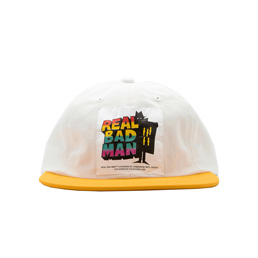 Real Bad Man 6 Panel Cap Gold/Silver