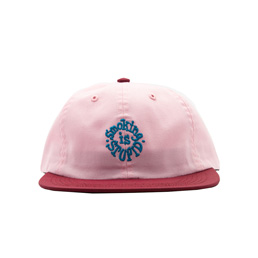Real Bad Man Smoking Is Stupid Cap Pink