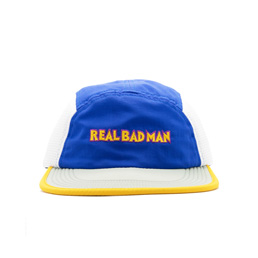 Real Bad Man Zonked Agin Mesh Camper Blue