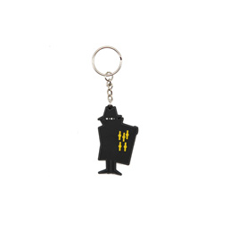 Real Bad Man Key Chain Black