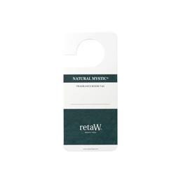 retaW Fragrance Room Tag Natural Mystic
