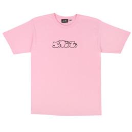 Sneeze Logo T-Shirt Pink