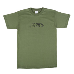 Sneeze Logo T-Shirt Army Green
