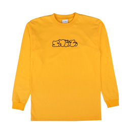 Sneeze Logo L/S T-Shirt Gold