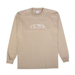 Sneeze Logo L/S T-Shirt Sand