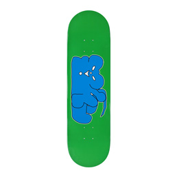 Sneeze Mouse Skateboard Deck - Green