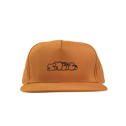 Sneeze Logo Panel 5-Panel Hat Cognac