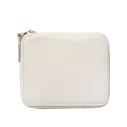 CDG SA2100 Classic Leather Wallet White