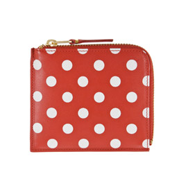 CDG SA3100PD Polka Dots Wallet Red