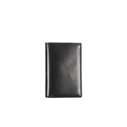 CDG SA6400 Leather Wallet No Zip Black