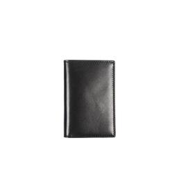 CDG SA6400 Leather Wallet No Zip Black