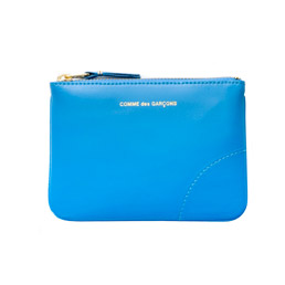 CDG SA8100 Classic Leather Wallet BLue