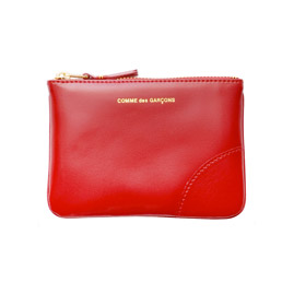 CDG SA8100 Classic Leather Wallet Red