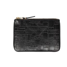 CDG SA8100EL Embossed Wallet Black