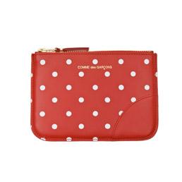 CDG SA8100PD Polka Dots Wallet Red