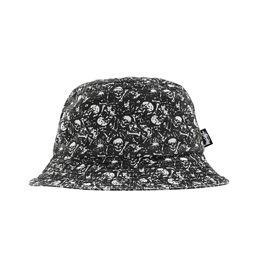 Stussy Bones Bucket Hat - Black