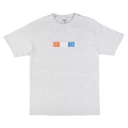 Sports Class Block Logo T-Shirt - Ash