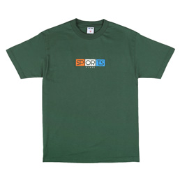 Sports Class Block Logo T-Shirt - Forest